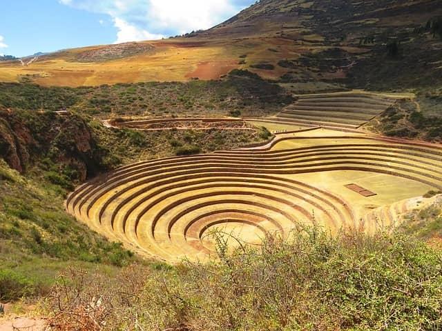 andenes agricultura inca
