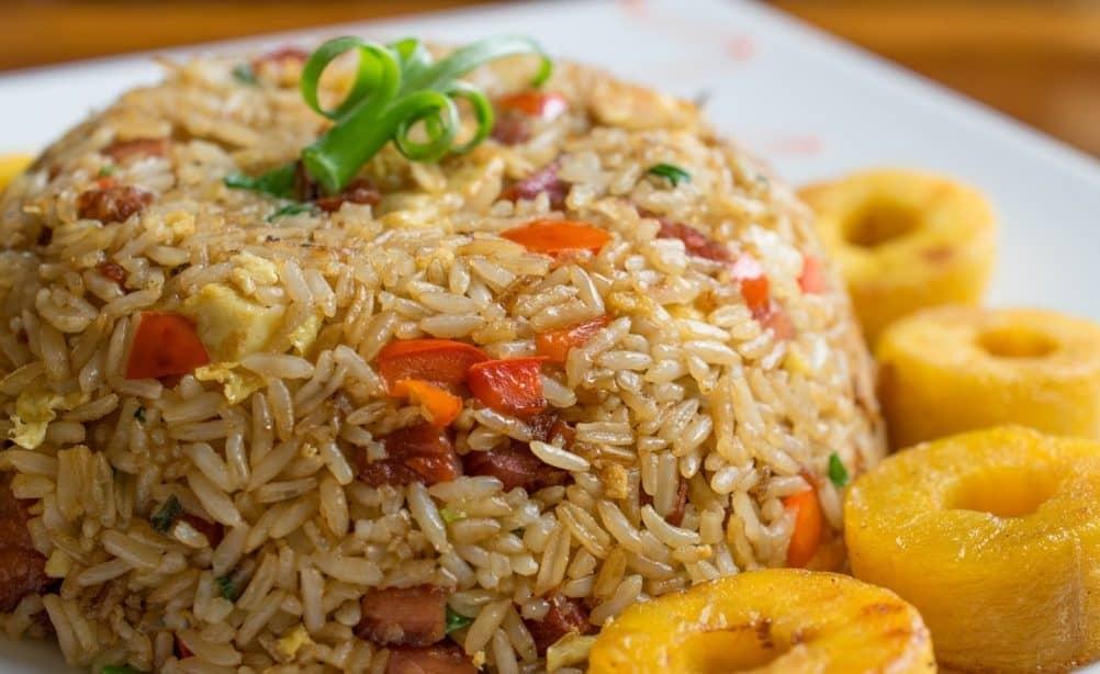 arroz chaufa peru