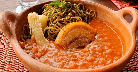 carapulcra sopa seca